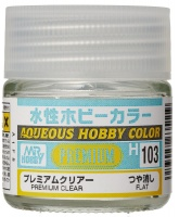 Mr. Hobby Color H103 Premium Clear - Flat / Matt - 10ml