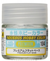 Mr. Hobby Color H104 Premium Clear Base  / Mattiermittel - Flat / Matt - 10ml
