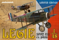 Legie - SPAD XIIIs flown by Czechoslovak pilots - Limited Edition - 1:48