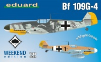 Messerschmitt Bf 109 G-4 - Weekend Edition - 1/48