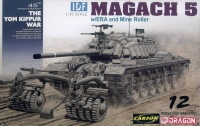 IDF Magach 5 with ERA and Mine Roller - 1:35