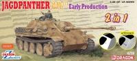 Jagdpanther Ausf. G1 - Jagdpanzer - frühe Produktion - 2 in 1 - 1:35