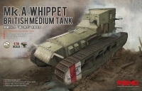 Mk. A Whippet - British Medium Tank - 1:35