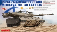Merkava Mk. 3D Late LIC - Israel Main Battle Tank - 1:35
