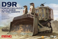 D9R Armored Bulldozer with Slat Armor - 1:35
