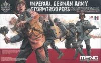 Imperial German Army Stormtroopers - 4 Figuren - 1:35
