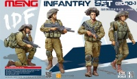 IDF modern Infantry Set - 4 Figuren - 1:35