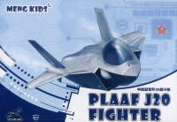 PLAAF J20 Fighter - Meng Kids - Egg Plane - 1:Egg