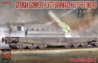 Schwerer Plattformwagen SSyms 80 - 1:72