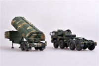 NATO M1014 MAN Tractor & BGM-109G - Ground Launched Cruise Missile - Fertigmodell - 1:72