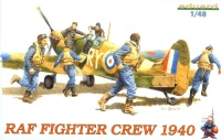 RAF Fighter Crew - 1940 - 6 Figures - 1/48