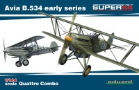 Avia B.534 early series - Quattro Combo - Super 44 - 1:144