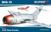MiG 15 - Dual Combo - Super 44 - 1/144
