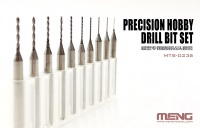 Tungsten Steel Drill Bits - 0,4mm - 1,3mm - 10 drills