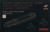 Russian 9M38 Surface to Air Missile Display Racks & Missile Container - 1:35