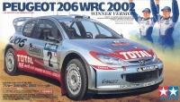 Peugeot 206 WRC Sieger Version 2002 - 1:24