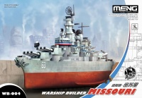 USS Missouri BB-63 - US Battleship - Warship Builder - 1:Egg