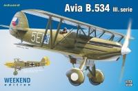 Avia B.534 III. Serie - Weekend Edition - 1:72
