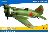 Polikarpov I-16 - Type 18 - Weekend Edition - 1:48