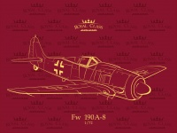 Focke Wulf Fw 190 A-8 - Quattro Combo - Royal Class - 1:72