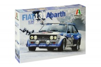 Fiat 131 Abarth Rally - 1:24