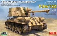 T-34/122 - Egyptian 122mm Self-Propelled Gun - 1/35