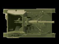 Sowjetische Selbstfahrlafette SU-76M - 1:100