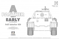 Panther - Ausf. A - Sd.Kfz. 171 - Early Production with full Interior - 1/35
