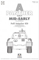 Panther - Ausf. A - Sd.Kfz. 171 - Mid-Early Production with full Interior - 1/35
