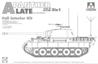Panther - Ausf. A - Sd.Kfz. 171 / Sd.Kfz. 267 - 2in1 - Late Production with full Interior - 1/35
