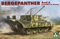 Bergepanther Ausf. A - Sd.Kfz. 179 - Demag Assembled with full interior - 1:35
