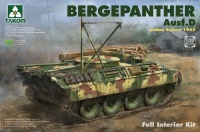 Bergepanther Ausf. D - Umbau Seibert 1945 with full interior - 1:35