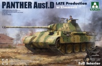 Panther Ausf. D - Sd.Kfz. 171 - Late Production with Zimmerit and full Interior - 1/35
