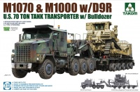 M1070 & M1000 with D9R Bulldozer - 1:72