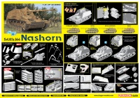 Nashorn Sd.Kfz. 164 - 4in1 - 1:35