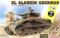 El Alamein Sherman - 1/35