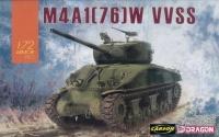 M4A1 76W Sherman - VVSS - 1:72