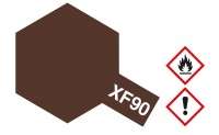 Tamiya Mini XF90 - Red Brown 2 / Rotbraun 2