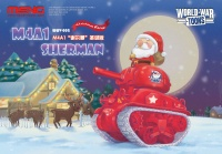 M4A1 Sherman - World War Toons - Christmas Edition - 1/Egg
