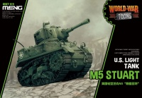 M5 Stuart - US Light Tank - World War Toons - Egg Tank  - 1:Egg