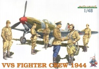 VVS Fighter Crew - 1944 - 6 Figures - 1/48