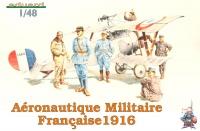 Aeronautique Militaire Francaise 1916 - 6 Figures - 1/48