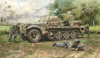 Demag D7 - Sd.Kfz. 10 - with German Paratroopers - 1:35
