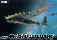 Me 323 D-1 Gigant - German Military Transport Aircraft - 1:144