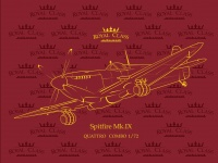 Supermarine Spitfire Mk. IX - Quattro-Combo - Royal Class - 1:72