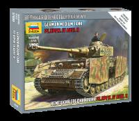 Panzer IV Ausf. H - Deutscher mittelschwerer Panzer - 1:100