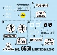 Mercedes-Benz L3000 S - 1:35