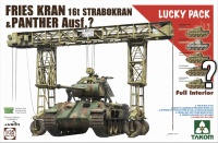 Fries Kran - 16t Strabokran - 1943 / 1944 - mit Panther - Lucky Pack - 1:35