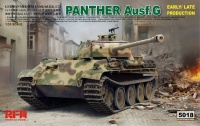 Panther Ausf. G - early / late Production - Sd.Kfz. 171 - 1/35