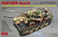 Panther Ausf. G - with Full Interior & Cut Away Hull and Turret - 1/35